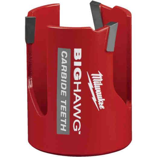 Milwaukee Big Hawg 2-1/8 In. Carbide-Tipped Hole Saw
