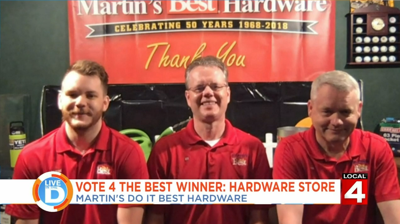Voted WDIV's #1 Independent Hardware in Metro Detroit!